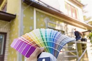 Choisir Couleur Facade Maison : choisir une couleur de peinture pour fa ade ext rieure ~ Nature-et-papiers.com Idées de Décoration