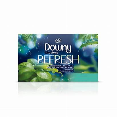 Downy Sheets Refresh Dryer Fabric Softener Infusions