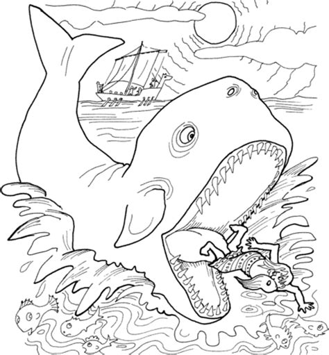 jonah   whale coloring page super coloring