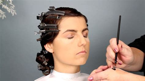 1920s Bridal Hair and Makeup Tutorial   YouTube