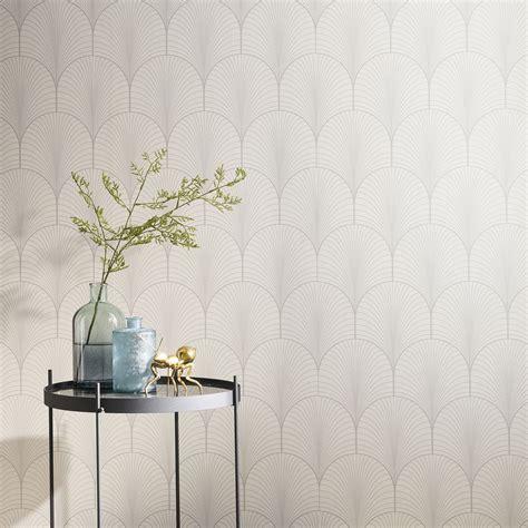 tapisserie cuisine leroy merlin papier peint intissé joséphine blanc leroy merlin
