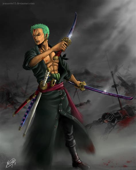 Anime Haki One Zoro And Sanji Haki Www Pixshark Images