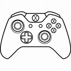 drawn controller black and white pencil and in color With controller photo