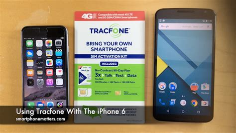 iphone tracfone using tracfone with the iphone 6 smartphonematters