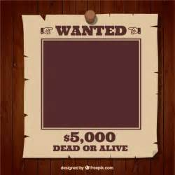 Wanted Template Free Download
