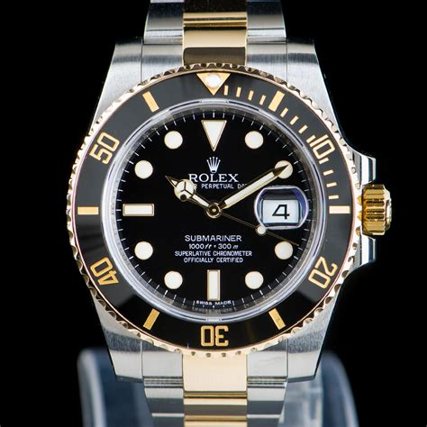 Rolex Submariner Date Ref: 116613LN Two-tone gold/steel ...