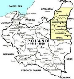 Poland Map 1939