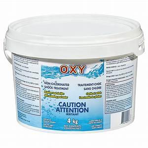 Traitement Choc Piscine : traitement de choc sans chlore pour piscine 4 kg 04oc004 ~ Carolinahurricanesstore.com Idées de Décoration