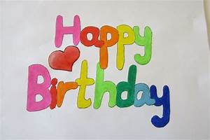 Happy birthday in bubble letters levelings for Happy birthday big letters