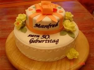 Torte Zum 50 Geburtstag Selber Machen : meine erste zweist ckige torte zum 50 geburtstag motivtorten fotos forum ~ Frokenaadalensverden.com Haus und Dekorationen