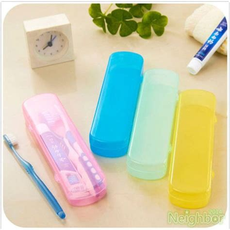 good  travel portable toothbrush toothpaste storage