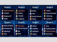 Fútbol Sorteo fase de grupos UEFA Champions League RTVEes