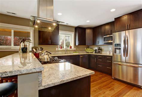 kitchen design tips  dark kitchen cabinets