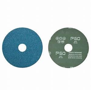 RESIN FIBRE DISCS - ZIRCONIA - Mercer Industries