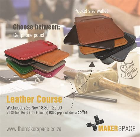 leather craft   makerspace