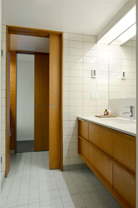 Modern Bathroom Door Ideas by Mid Century Modern Exterior Doors Bathroom Midcentury With