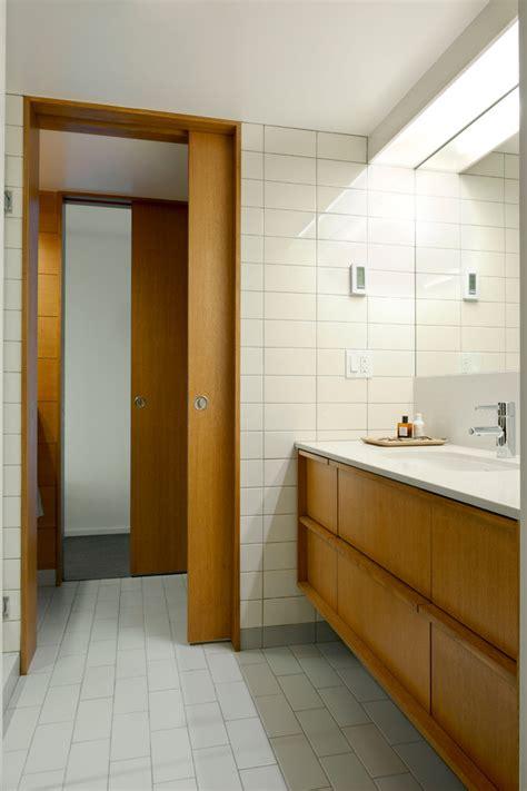 Mid Century Modern Exterior Doors Bathroom Midcentury With