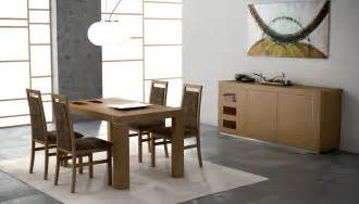contemporary dining room set extendable wooden made in spain modern dining room syracuse new york esfirenewalnut