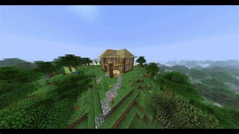 minecraft oak house youtube