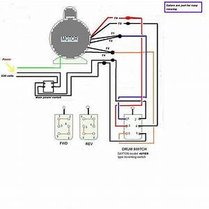 Drum Switch Ac Motor Reversing Switch Wiring Diagram