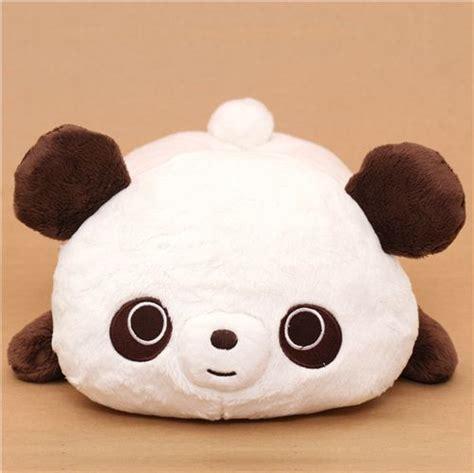 weiss brauner chocopa panda baer pluesch kosmetiktuecherbox