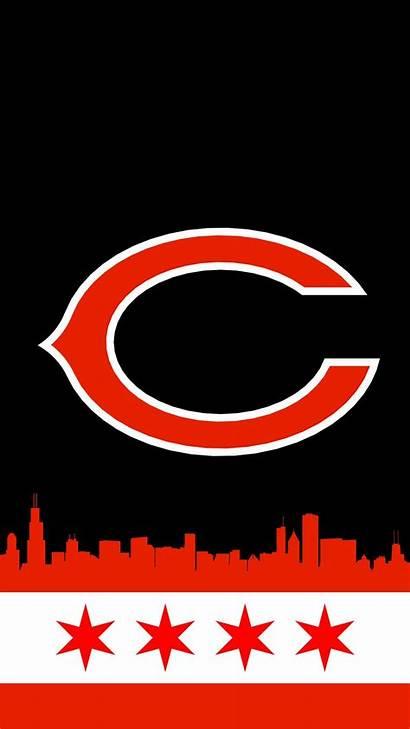 Chicago Bears Iphone Nfl Football Blackhawks Logos