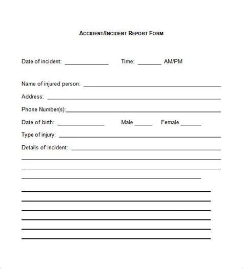 incident report form template 37 incident report templates pdf doc free premium templates