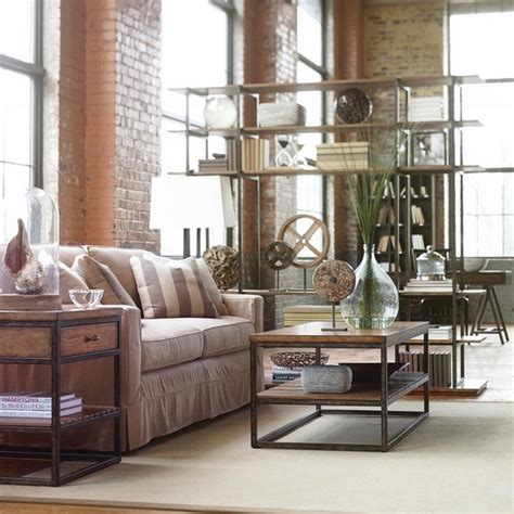chic living room ideas chic loft apartment fabulous ideas for living room interiors Industrial