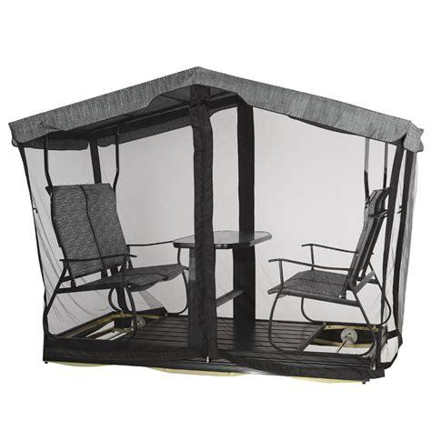 chaise balancoire balançoire à rouleaux 4 places monza balançoires bancs