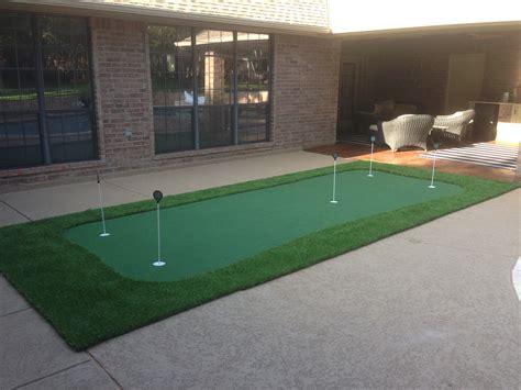 Indoor Practice Putting Greens