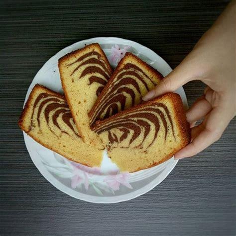 resep kue bolu macan khas bangka marmer cake  soft