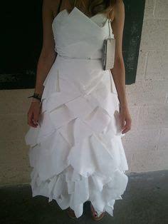 robe en papier journal katherine s board