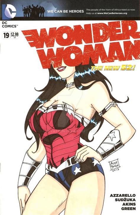New 52 Wonder Woman By Elvatron On Deviantart