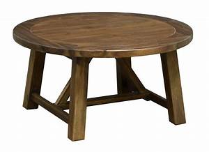 2018 popular round pine coffee tables for Round pine coffee table