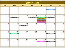 Event Calendar Excel Template calendar template excel