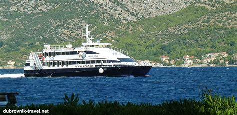 Ferry Catamaran Dubrovnik Mljet by Getting From Split To Dubrovnik Dubrovnik To Split