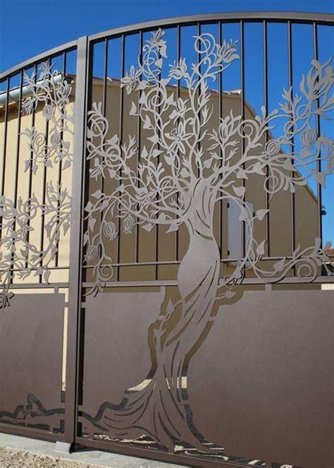 portail arbre antique d 233 coration ext 233 rieure portail fer forg 233 portail et fer forg 233