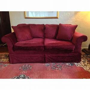 Laura Ashley Sofa : laura ashley red velvet loveseat sofa chairish ~ A.2002-acura-tl-radio.info Haus und Dekorationen