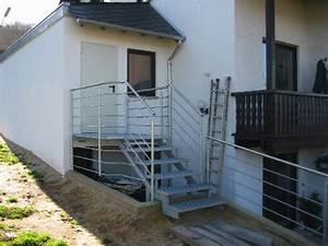 Garagenanbau Mit Terrasse : treppen gel nder metallbau greif aach bei trier ~ Lizthompson.info Haus und Dekorationen