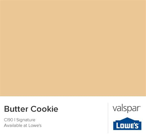 butter cookie from valspar paint colors butter colors and dining rooms