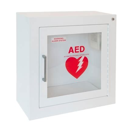 Defibrillator Cabinet by Wall Mount Aed Cabinet With Alarm Aeds Today