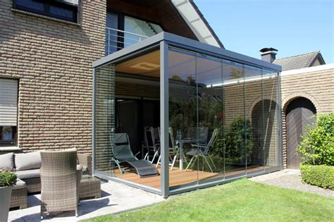 terrassen windschutz glas terrassen 220 berdachung flachdach mit glas