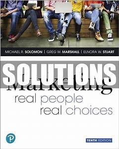 Only  22 Solutions Manual For Marketing Real People Real