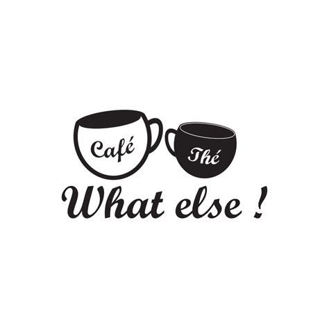 stickers cuisine belgique sticker what else avec tasses thé et café pour cuisine