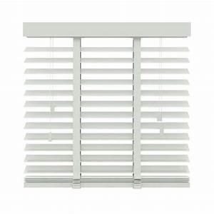 Store Venitien Bois 45 Cm : store v nitien horizontal bois 50 mm blanc 200x220 cm ~ Edinachiropracticcenter.com Idées de Décoration