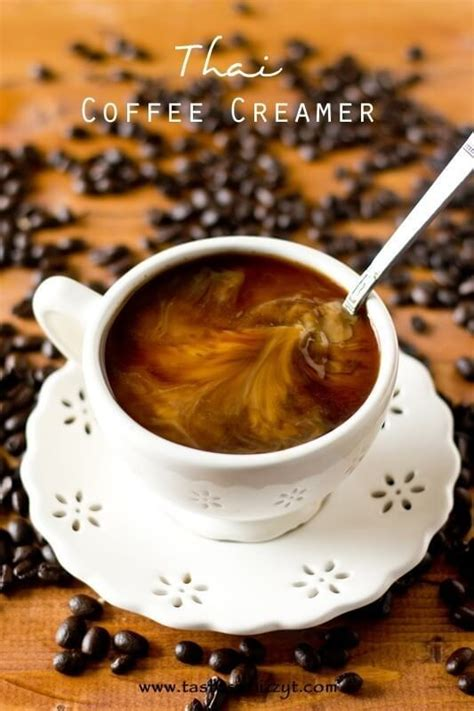 Well, thanks to this coffee creamer recipe you can create these delicious beverages at home, any time you want, and without the cost. Thai Coffee Creamer {Easy Homemade Creamer Recipe with Earthy Spices}