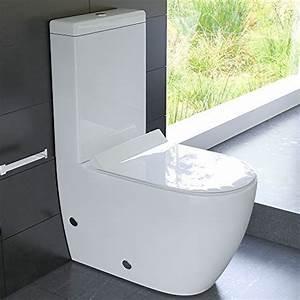 Wc Spülkasten Geberit : design stand wc aus keramik mit sp lkasten mit geberit sp lgarnitur und duroplast wc sitz mit ~ Orissabook.com Haus und Dekorationen