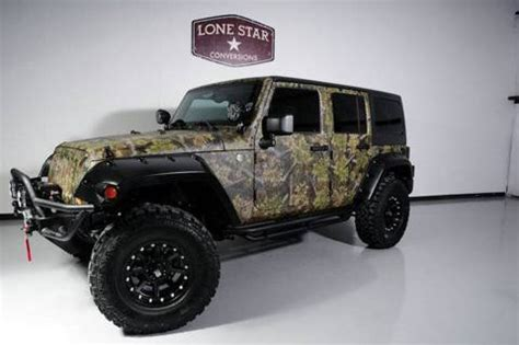 custom paint jeep jeep wrangler unlimited offroad customized custom line