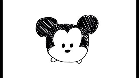 [simple Drawing Tutorial] How To Draw Cute And Easy Disney