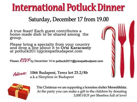 captivating potluck dinner invitation template  simple